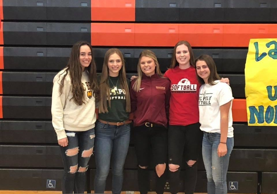 5 College-Bound Seniors Sign Letter of Intent